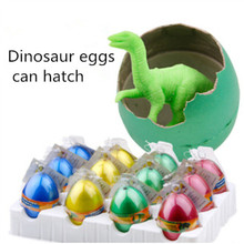 Big yards lot Novel Water Hatching Inflation Dinosaur Egg Watercolor Cracks Grow Egg Educational Toys Interesting Gift(China (Mainland))