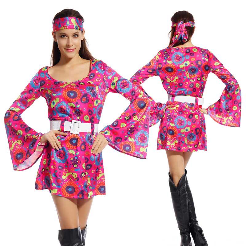 Moda retro mujer 70 - Moda hippie anos 70 ...