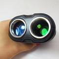 HOT 400m black Portable Golf Laser Rangefinder with Pinseeker for Golf Monocular Laser Distance Meter Golf