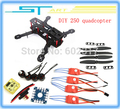 New RC Carbon Fiber Mini 250 C250 Quadcopter brushless emax Motor 12A Esc Flight Control with