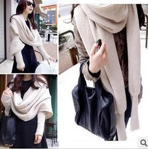 2016new стиль мода шарфы нью-зимний шарф теплый длинную-рукава сгущает шарф многофункциональный пару моделей