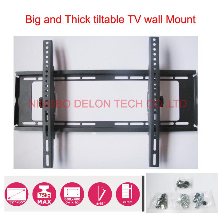 32inch 37inch 46inch 50inch 65inch tiltable lcd tv wall mount swivel led tv bracket shelf(China (Mainland))