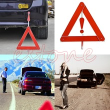 Car Rear Warning Board Stop Vehicle Danger Reflective Safety Triangle Sign New(China (Mainland))