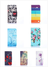 G360 Cartoon Card wallet PU Leather Mobile Phone Flip Stand Cover Case For Samsung Galaxy Core Prime G360 G360H G3606 G3608