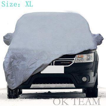 Car covers Size S/M/L/XL SUV L/XL Waterproof Full Car Cover Sun UV Snow Dust Rain Resistant Protection Gray