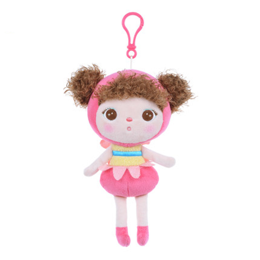 Giant Kawaii Girl Charm Keychain Plush Toy Doll Metoo Stroller Soft Toys For Bouquets Doll Plush Kids Stuffed Cute Gift 70H0307(China (Mainland))