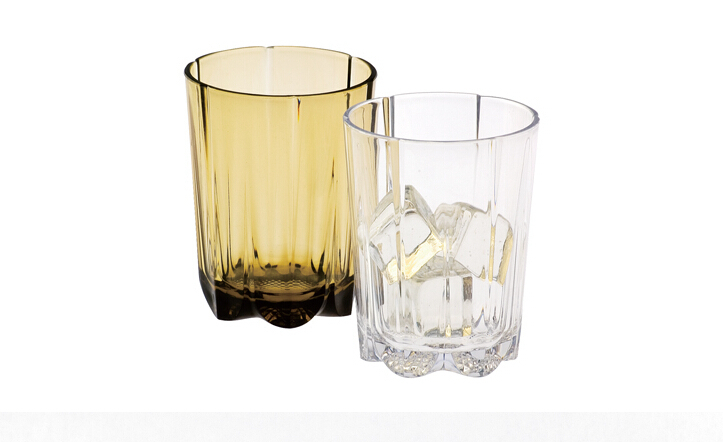 factory bulk supply FDA 15oz 450ml clear glass fashion design AS plastic drinking cup glasses with colors(China (Mainland))