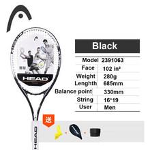 Genuine Head Tennis Racket Carbon Tennis Racquet With Bag Tennis Padel String Overgrip Tennis Racket Tenis Raqueta Grip 4 1/4(China)