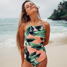 Sexy Off Shoulder One Piece Swimsuit Women Swimwear Female Bodysuit Bathing Suit Ruffle Monokini Swim Wear Beachwear Beach XL(China)