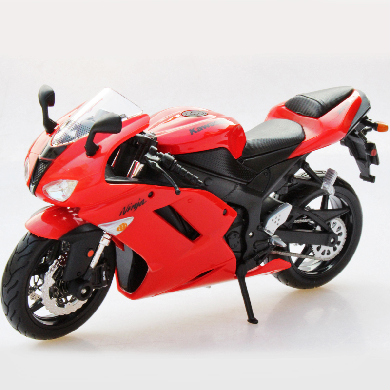 KWSK Ninja ZX-6R Red motorcycle model 1:12 scale models Alloy motorcycle racing model motorcycle model Toys Gift Toy motorcycle(China (Mainland))