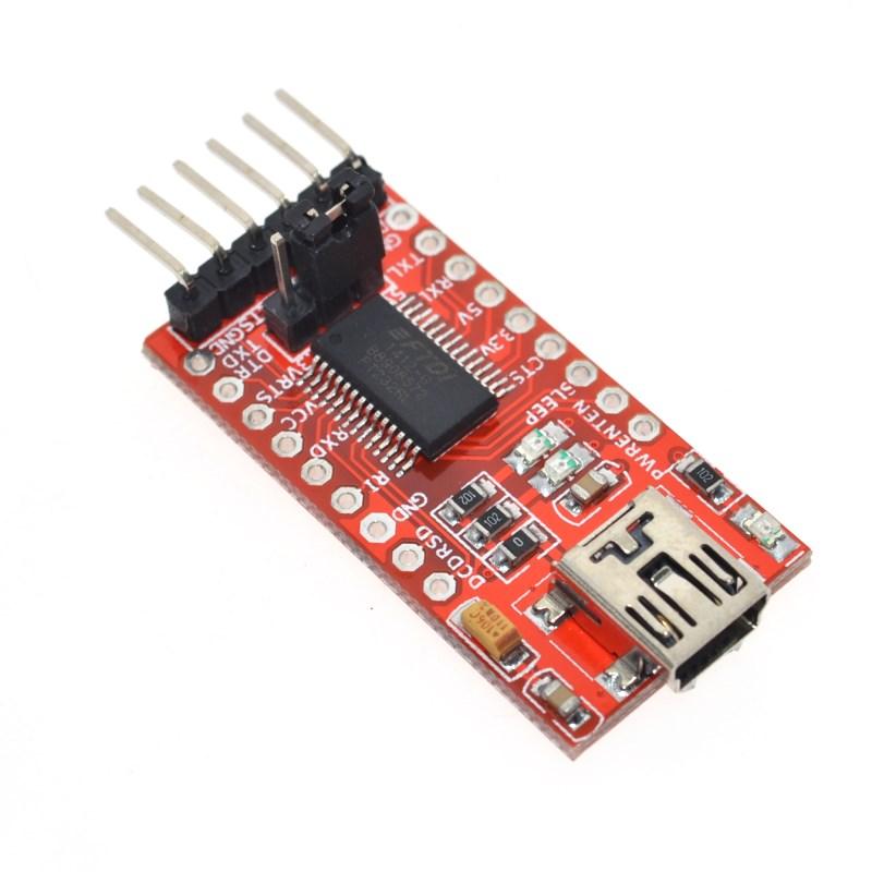 Free Shipping FT232RL FTDI USB 3.3V 5.5V to TTL Serial Adapter Module forArduin Mini Port.Buy a good quality!Please choose me