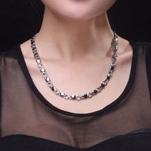 2016 Новый Горячий Продавать!!! 29 Германий Titanium Стали Сердце Терапии Энергии Ожерелье Питания Подарок Для Женщин(China (Mainland))