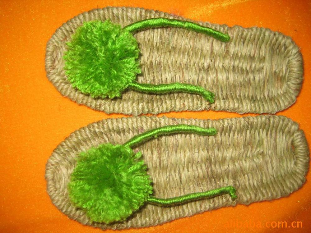 Sandals slippers sandals wholesale fashion sandals hand woven handicraft processing