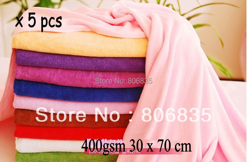 400gsm 30 x 70cm ultra absorption microfiber cleaning towel,car washing/polishing towel,microfiber cleaning cloth manufacturer(China (Mainland))