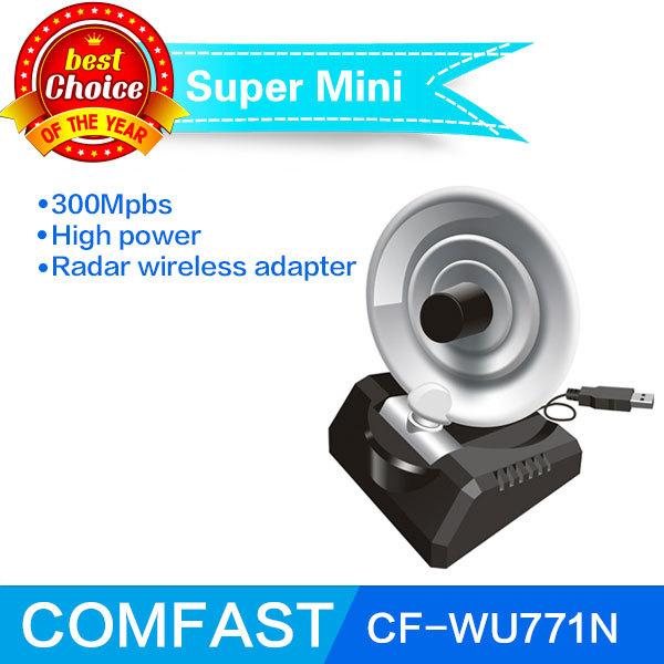 USB Wireless LAN Adapter 300Mbps 802.11n/g/b Radar WiFi Antenna Wireless signal receiver/transmitter COMFAST CF-WU771N(China (Mainland))