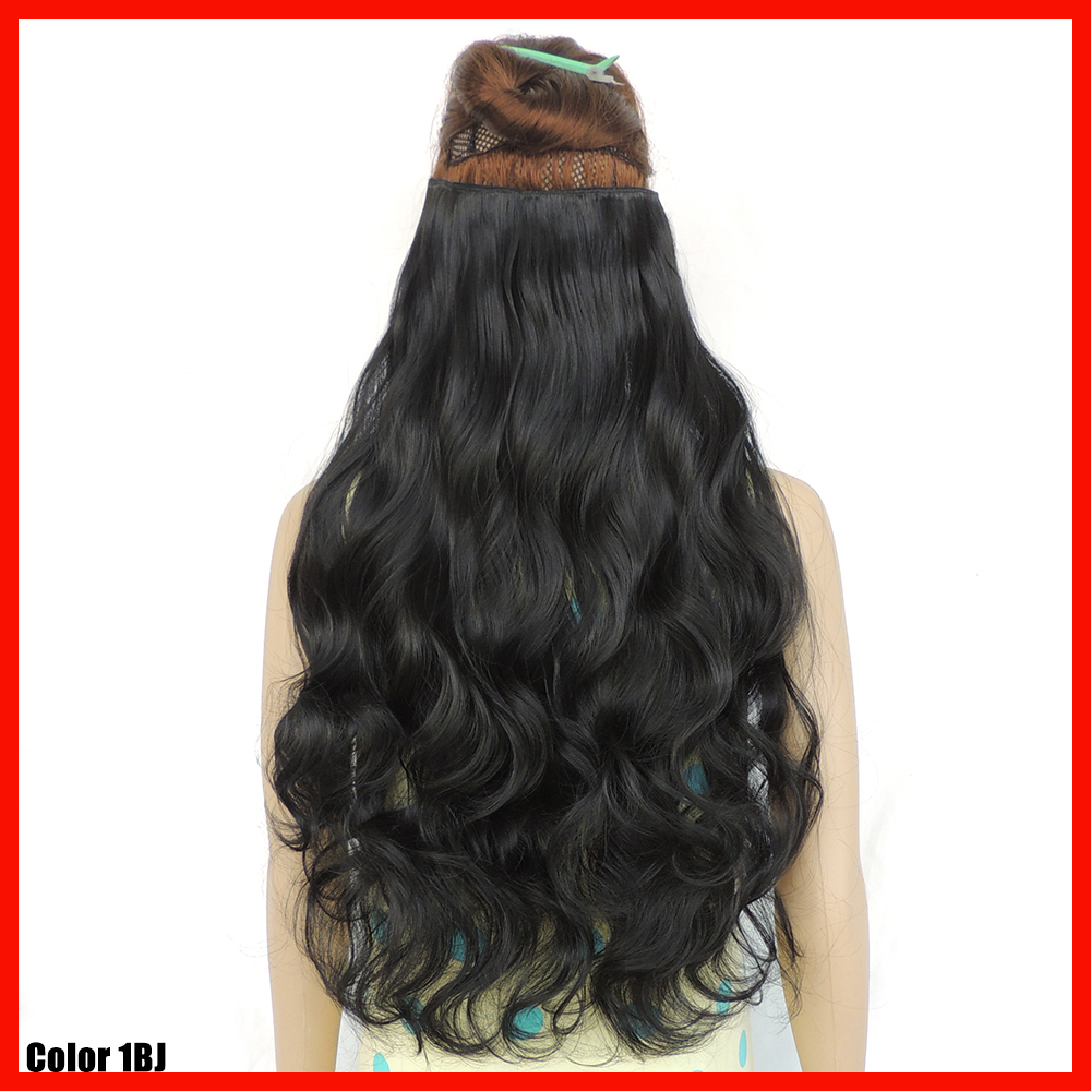 Hair Extensions Clip In Human Hair 24 Inches 57