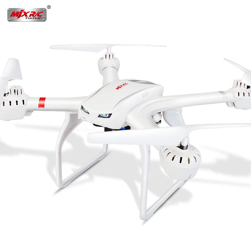 MJX X101  2.4G 6-Axis FPV Wifi Drone RC Quadcopter+ C4008 aerial camera  RC Helicopter  Drone With Camera HD 1MP  Simulator DRON