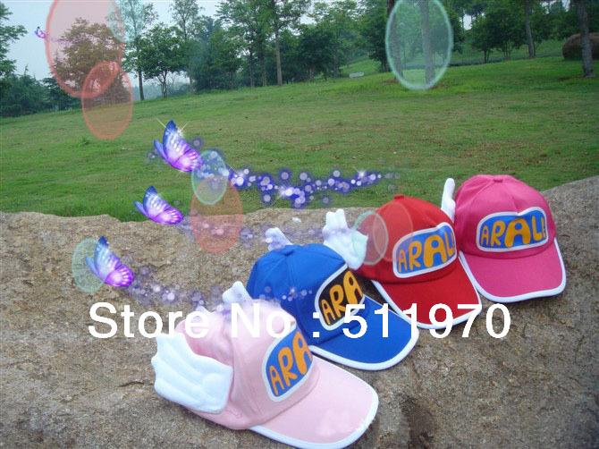 Free shipping Hot wholesale10pcs/lot Kids Angel Hat Children Baseball Cap Baby Cute spring hat enfant popular caps for best gift(China (Mainland))