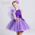 Summer Style Dress Flowers Girl Dresses for Wedding Party Cute Girls Floral Princess Dress Children Brand