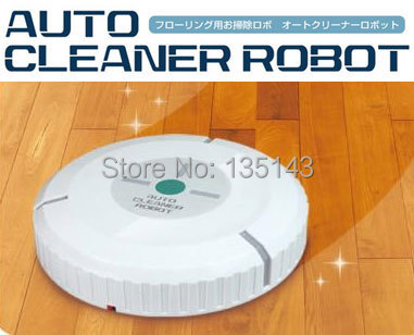 Free Shipping 1 Pcs Cleaning Robot Auto Robot Cleaner Automatical Dust Cleaner(China (Mainland))