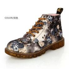 2019 Yeni Yürüyüş Dr. martins bayan ayakkabı Klasik iş kadın Çizmeler calzado mujer ayakkabı doc. martens Oxfords kereste arazi ayakkabı(China)