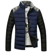 Free shipping 2015 new Men's down jacket collar thick warm coat island stone clothes hunting clothes