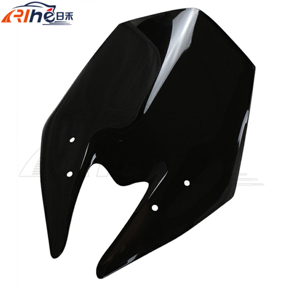 2015 new Motorcycle Windshield WindScreen motorcross accessories wind deflectors Kawasaki 2013-2014 Z800 Z 800 13 SMOKE - Guang Zhou Lan Qian Automobile & Bike Parts Co; Ltd store