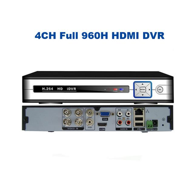 Full D1 4CH H.264 Real Time Network Security CCTV DVR Digital Video Recorder<br><br>Aliexpress