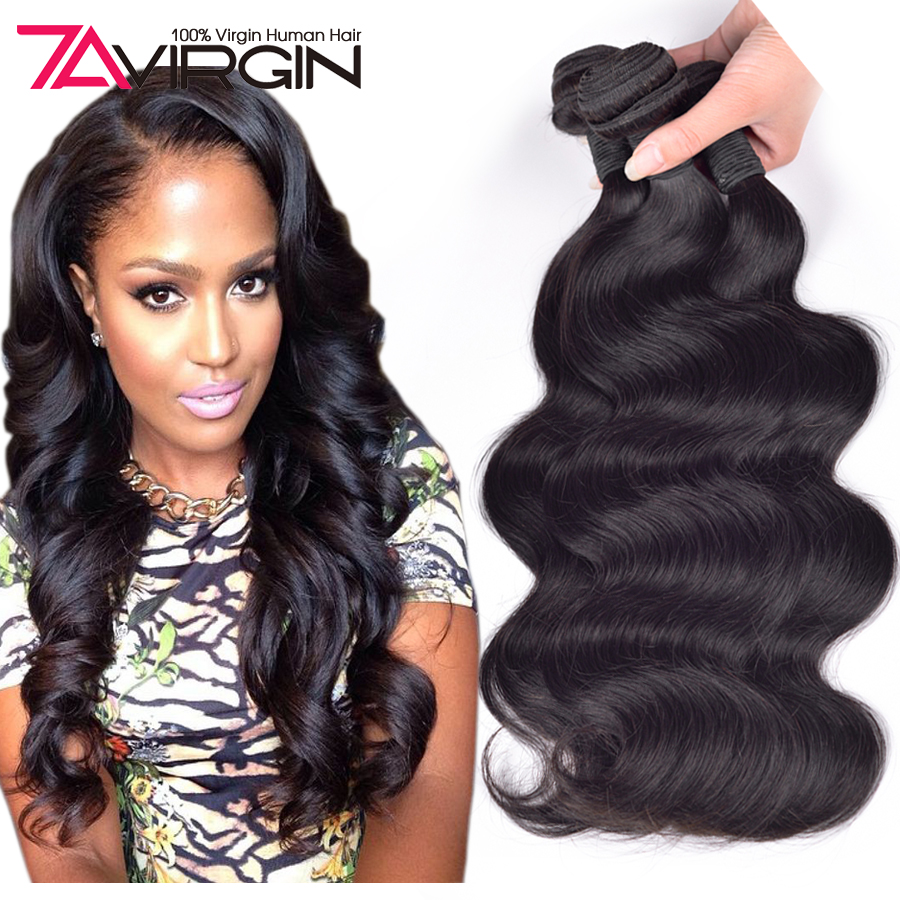 Cheap Human Hair 4 Bundles 100g Bundles 6A Unprocessed Virgin Brazilian Hair Rosa Hair Products Brazilian Virgin Hair Body Wave