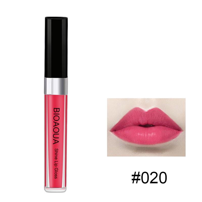 Nova Marca Lip Gloss Fosco Gloss Brilhante à prova d' água TATUAGEM Cor Mágica Máscara Casca Pacote de Maquiagem de Longa Duração lábios Matiz