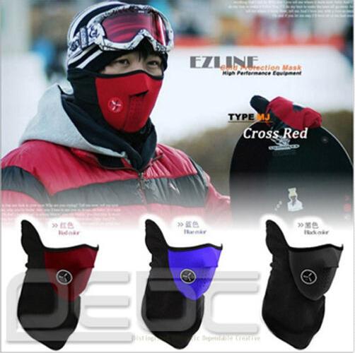 SKI HIVER Neck Half Face Mask DEMI MASQUE VELO WINTER WARM Motorcycle Bicycle 99(China (Mainland))