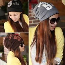 Unisex Women Men Note Five Hip-hop Baggy Beanie Hat Cool Dance Cotton Blend Cap  1PCF(China (Mainland))