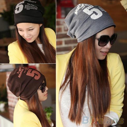 Unisex Women Men Note Five Hip-hop Baggy Beanie Hat Cool Dance Cotton Blend Cap 1PCF(China (Mainland))