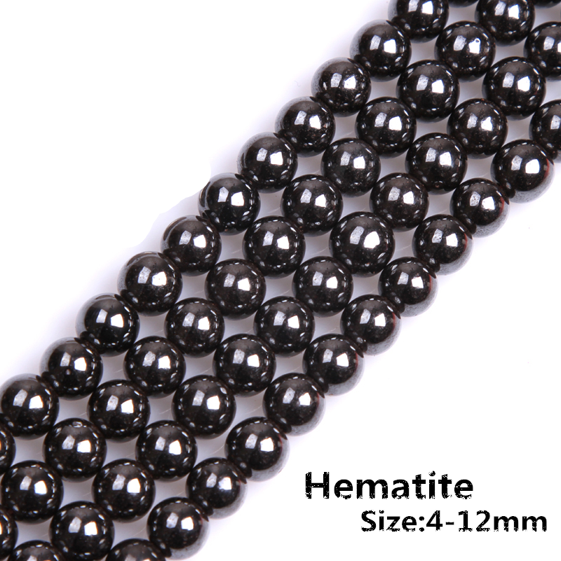 Non Magnetic Hematite Round Beads 4mm Pale Bronze 12 Pcs Gemstones Jewellery