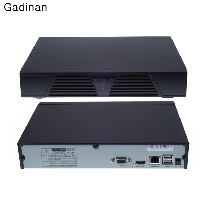 HD 8 Channel HDMI Full CCTV NVR 8CH 1080P H 264 Network Video Recorder Support CMS