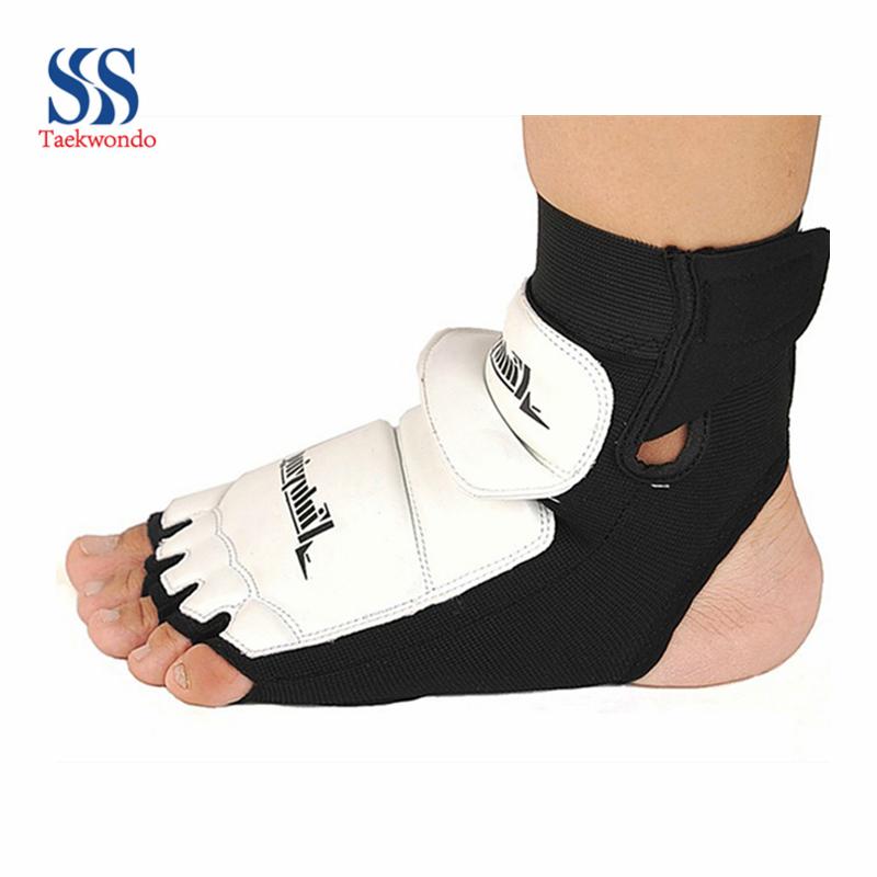 Free shipping Adult child thickening taekwondo flanchard foot protect Ankle Support Taekwondo & Karate kickboxing(China (Mainland))