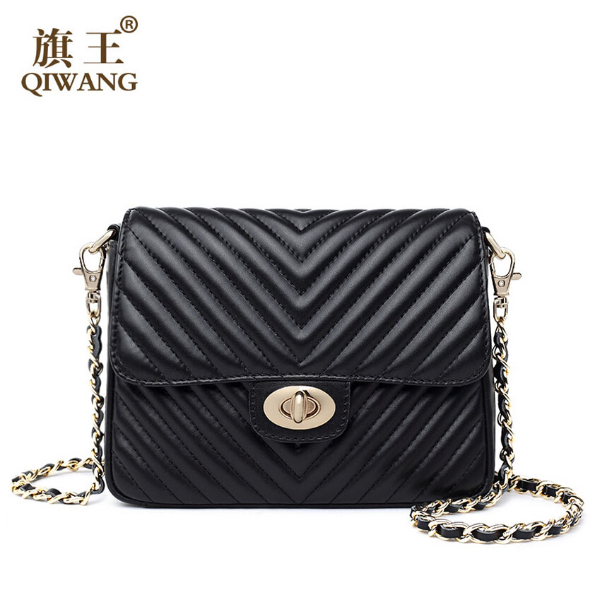 Famous brands top quality dermis women bag 2016 new chain bag V character Spiraea messenger bag Small square package<br><br>Aliexpress