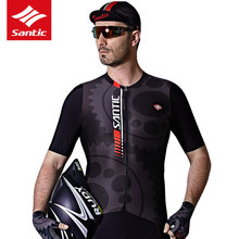 Buy Santic Cycling Jersey Short Sleeve 2017 Mini P-Cloth Bike Top Shirt Clothing Riding Racing Bicycle Jerseys Cycling Skinsuit Men for $30.13 in AliExpress store