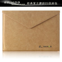 Luxury 11 12 13 inch Laptop Sleeve Case Bag Envelope for Apple MacBook Air 11 12 13 inch Laptop with Retail Package Free Shippin