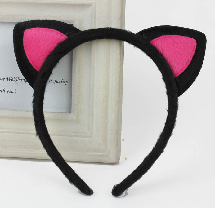 1PCS Fox Ear Headbands Hair Accessories for Children Baby Girls Head Bands Kitty Hair Bands Headwear Hairdress for Kids(China (Mainland))