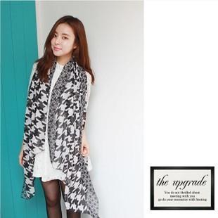 2016 новый вуаль печать хлопок женщин шарф зимы мода стиль шелк горошек сетки точка плоувер чехол шарф хлопок шарф шаль обертывания