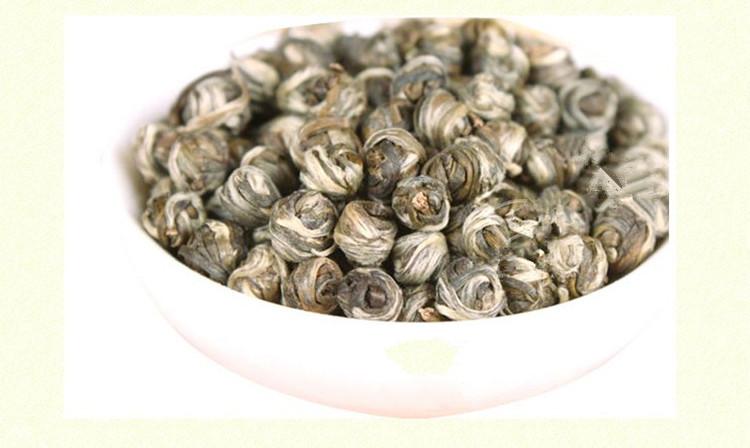 Гаджет  100g Jasmine dragon pearls tea,jasmine dragon balls, jasmine flavor green tea,free shipping None Еда