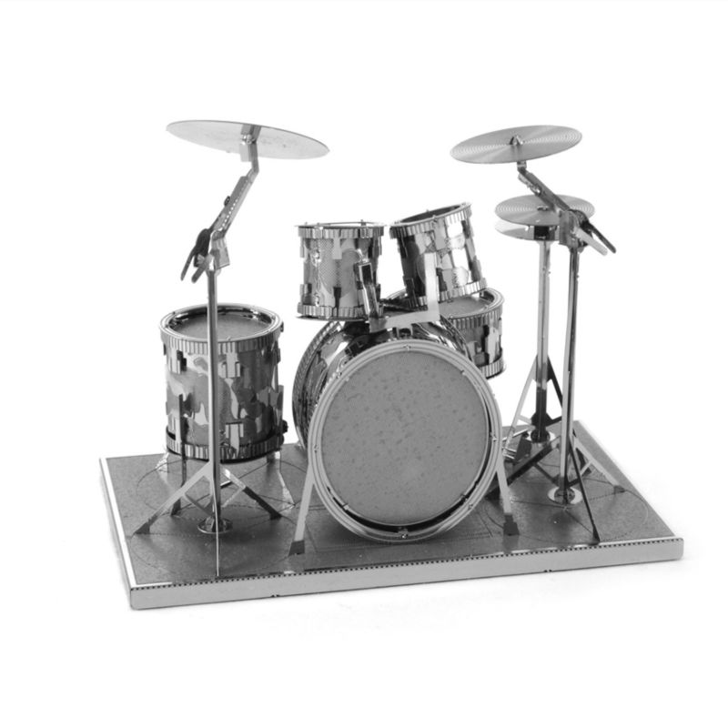 The new hot adult jigsaw puzzle toy 3d puzzle metal diy Shelf drum model all-metal instrument model free shipping<br><br>Aliexpress