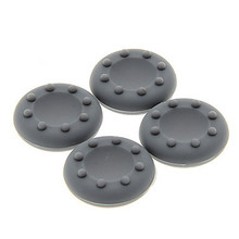4pcs Grey Joystick Soft Silicone Caps Covers Cases for PS4 / PS3 / XBOXone Controller