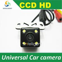 Free shipping HD CCD Car rear view camera color night vision universal car camera for all car such solaris corolla BMW E36 mazda(China (Mainland))