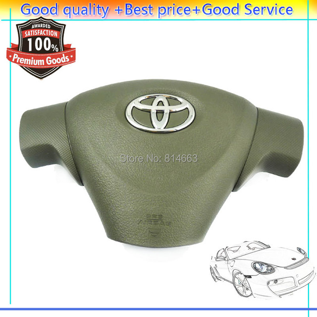NEW Emblem Steering Wheel Airbag Cover For Toyota Corolla Matrix 2009 2010 2011  (QNGTO002)