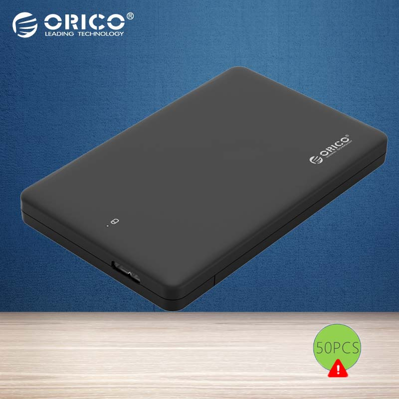 ORICO HDD Enclosure 2.5 inch USB 3.0 to SATA3.0 External Hard Drive Case for 7mm/ 9.5mm 2.5 inch HDD SSD up to Support UASP 2TB(China (Mainland))