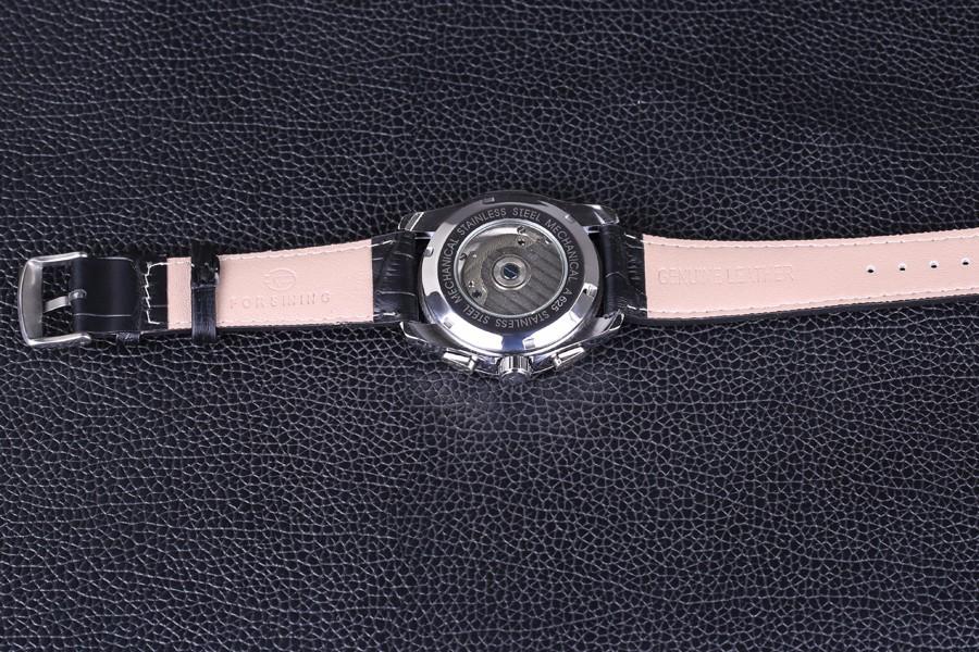 Новый Люксовый Бренд FORSINING Vintage Tourbillon Авто Механические Наручные Часы Повседневная Спорт мужские Часы Часы relogio masculino