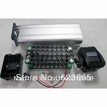 36V battery box Electric bicycle battery box / case / shell With free 18650 battery holder Suitable for 36v 8-15ah battery pack(China (Mainland))