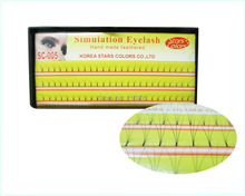 New Arrival  W Flase Eyelashes W Eyelash Extension  8mm10mm12mm 6pcs/lot